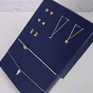 NWT RACHEL ROY 7 Piece Day & Night Jewelry Set